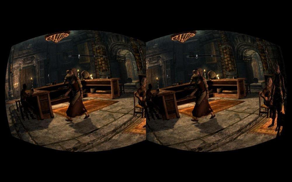Sombras interiores de Skyrim funcionando correctamente
