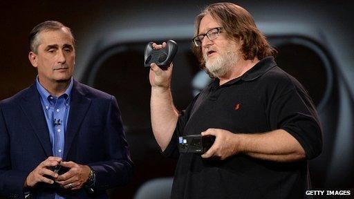 Gabe Newell en el CES