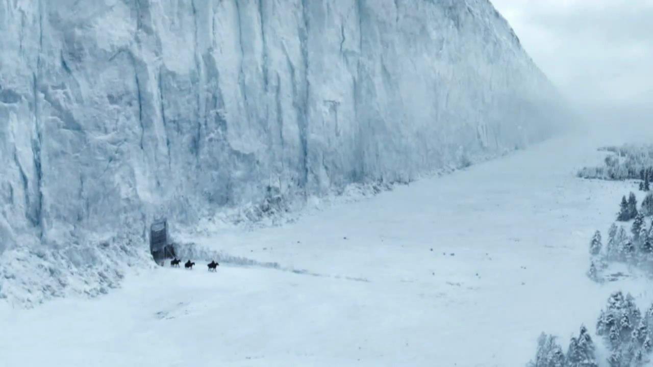 Muro de hielo de juego de tronos