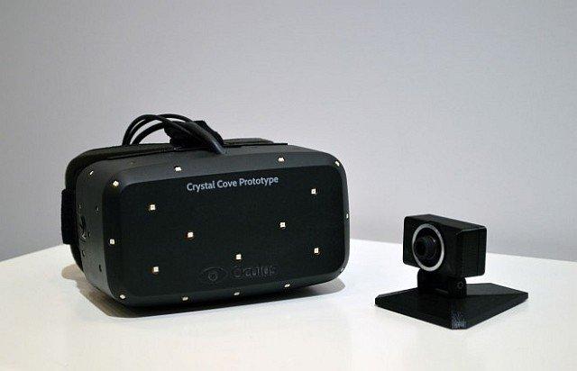 Prototipo 'Crystal Cove' de Oculus Rift