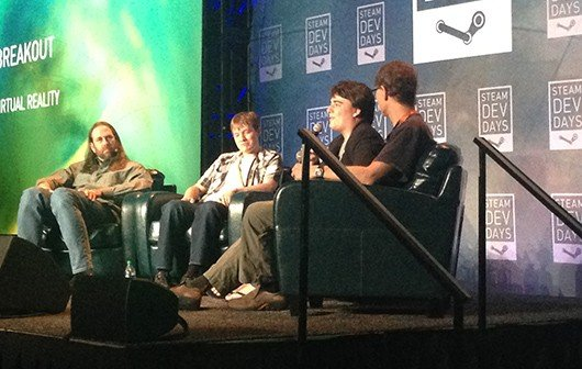 Palmer Luckey en los Steam Dev Days