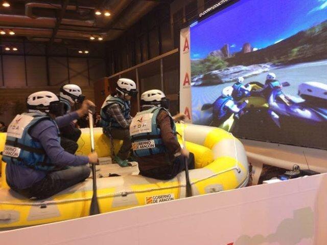 Simulador de rafting del ITA