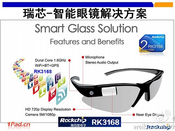 Smart Glass de Rockchip