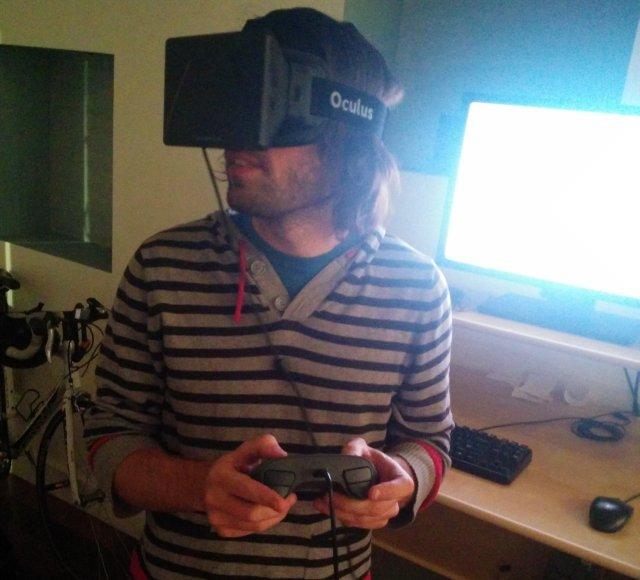 Witness + Oculus Rift + controlador Steam