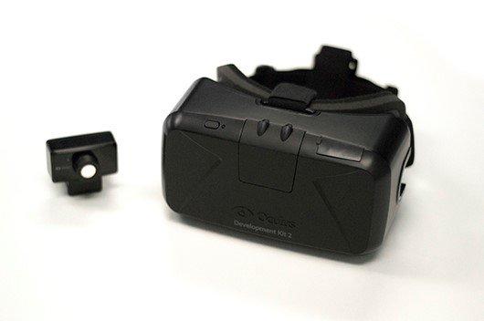 Oculus Rift DK2 con su cámara
