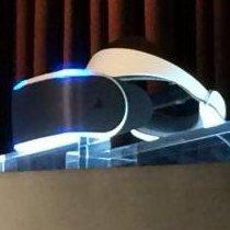 Primera imagen pública del HMD de Sony