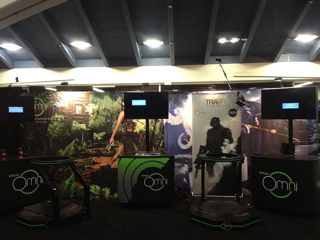 Stand de Virtuix en la GDC 2014