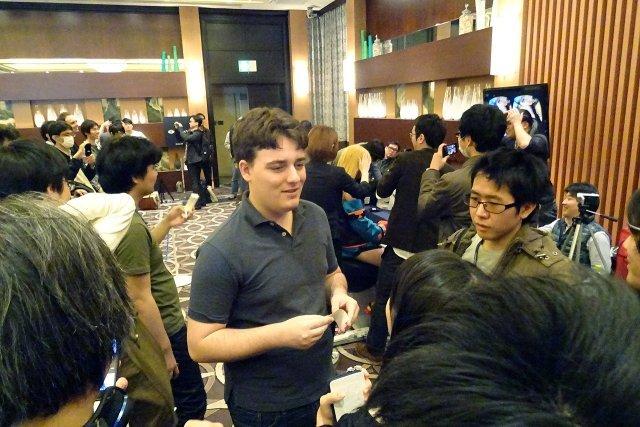 Palmer Luckey en Japón