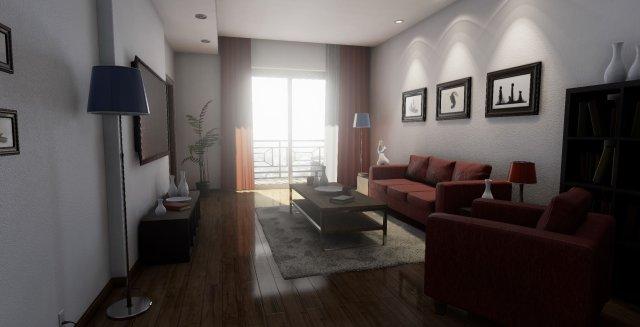 Demo de render realista con Unreal Engine 4
