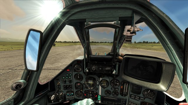 Cabina virtual en DCS World
