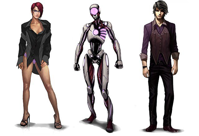Personajes de Loading Human