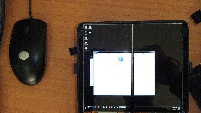 Escritorio de Windows en VReye Pro