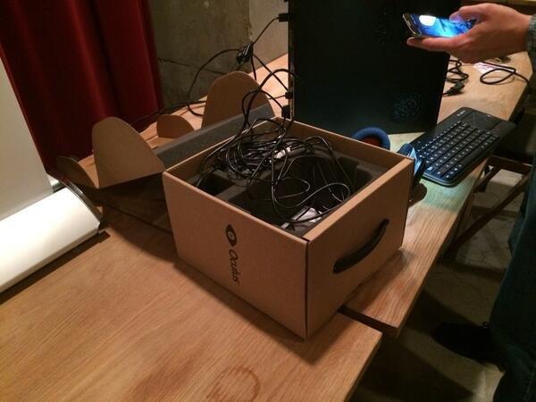 Caja del Oculus Rift DK2