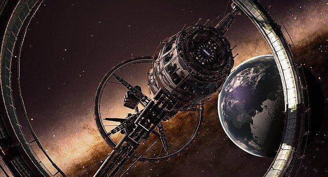 Estación orbital en Elite Dangerous