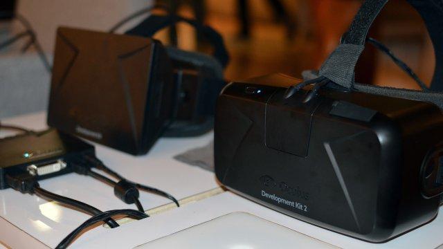 Oculus Rift DK1 y DK2