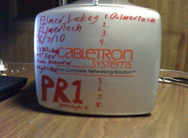 Prototipo PR1 de Palmer Luckey