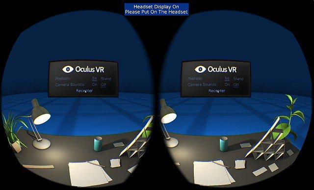 Escena de prueba Oculus SDK 0.4