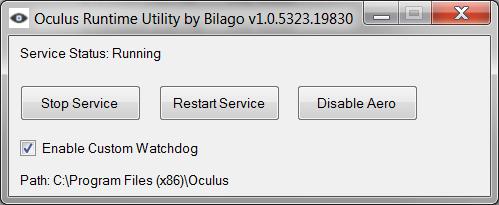 Oculus Runtime Utility