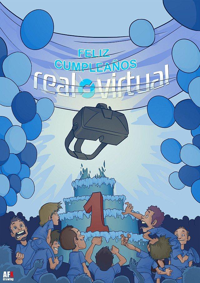 Regalamos un Oculus Rift DK2 para celebrar nuestro primer aniversario