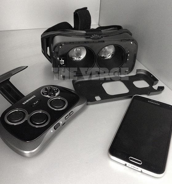 Supuesto aspecto de Gear VR
