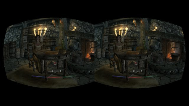 Skyrim en el Oculus Rift