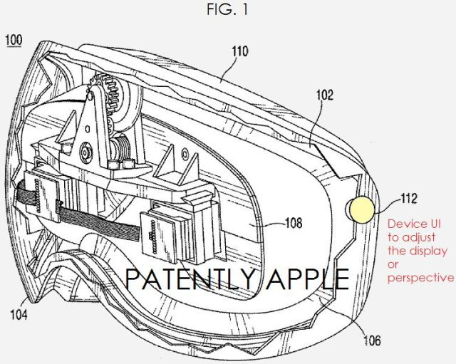 Patente de Apple para un HMD