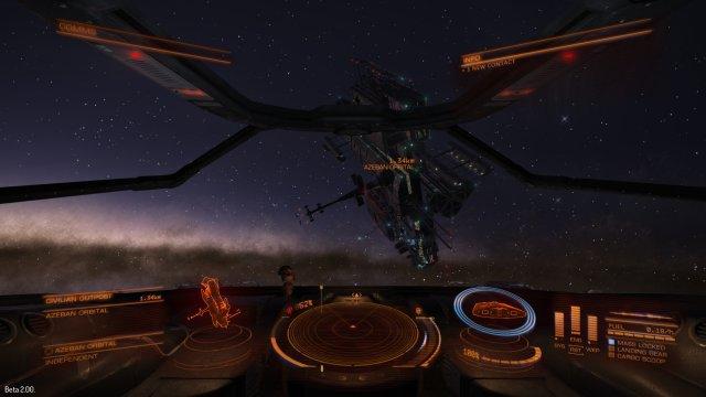 Nueva estación orbital de Azeban