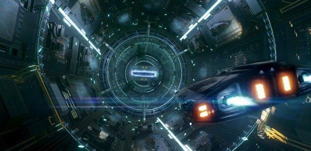 Entrada en la estación espacial de Elite Dangerous