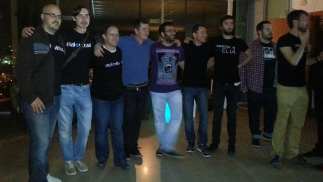 El equipo de ImmersiON-VRelia y Real o Virtual