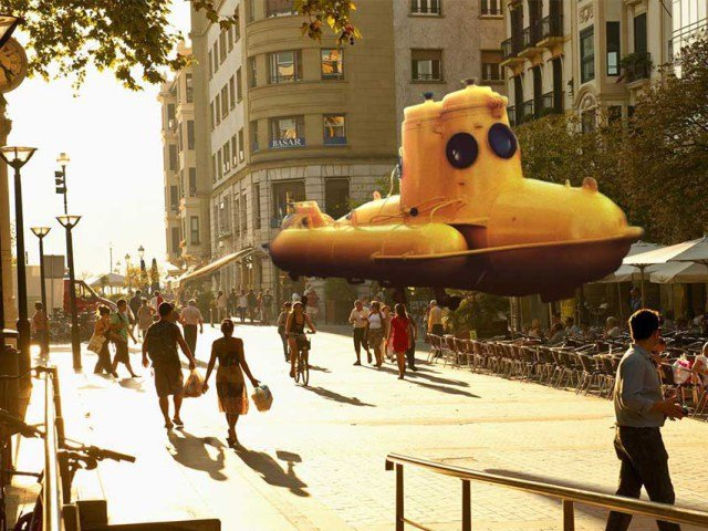Submarino Magic Leap