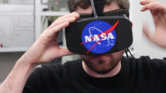 NASA y Oculus Rift