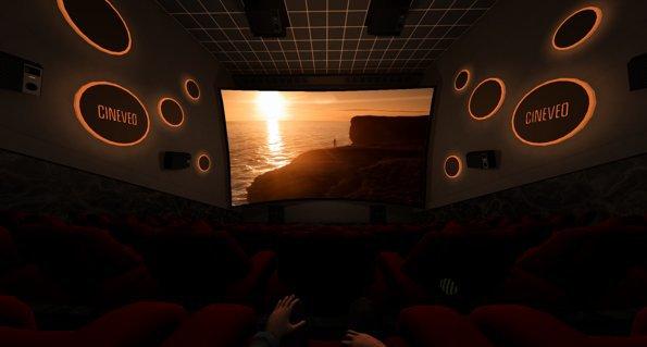 Sala 4D de Cineveo
