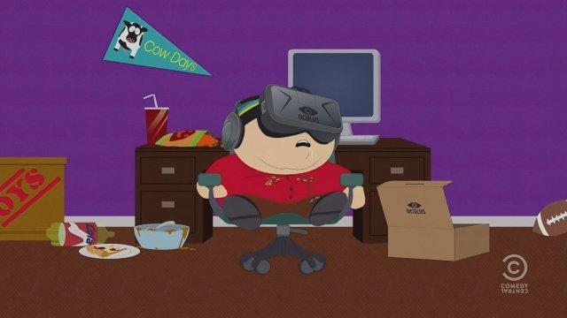 Oculus Rift aparece en un episodio de South Park