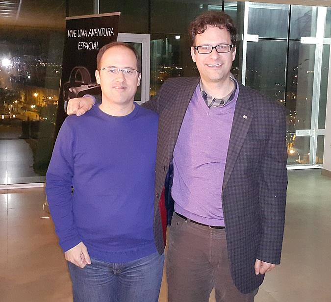 Juanlo y Neil Schneider
