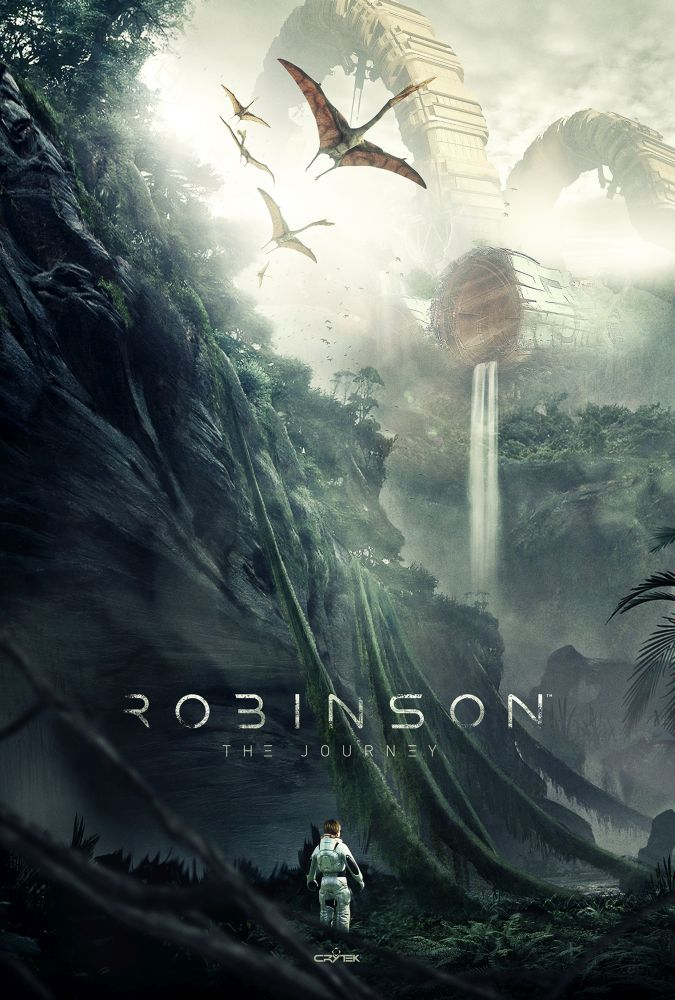 Portada de Robinson The Journey