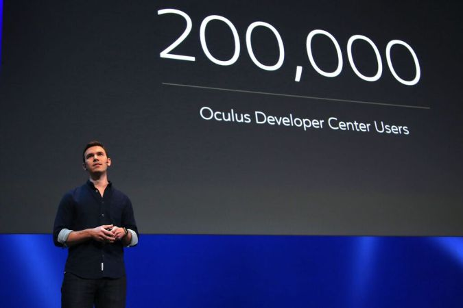 Nate Mitchell en el Oculus Connect 2
