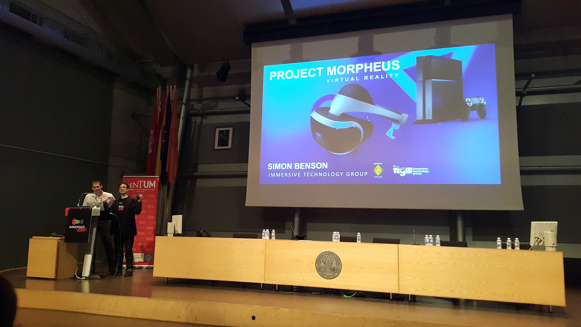 Project Morpheus en Immersed Europe