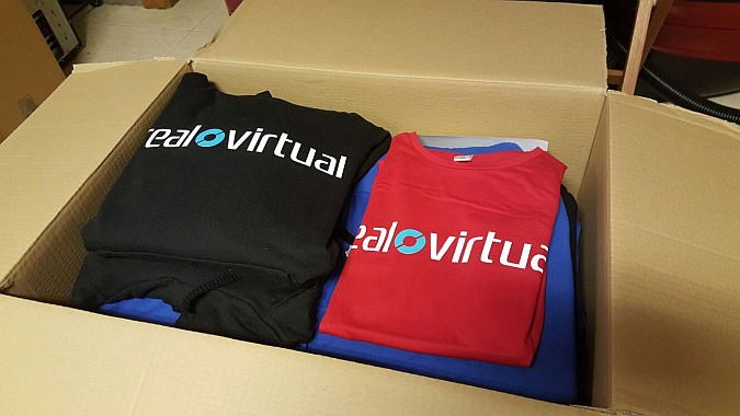 Camisetas Real o Virtual