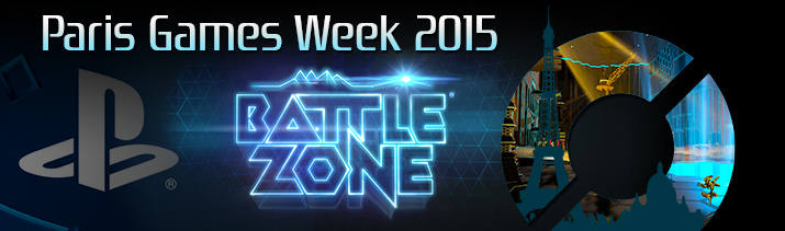 Probamos Battlezone en PlayStation VR en la Paris Games Week 2015