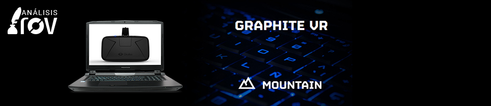 Portátil Mountain Graphite VR