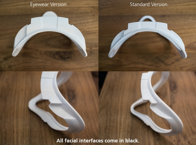 Interfaces faciales para Oculus Rift