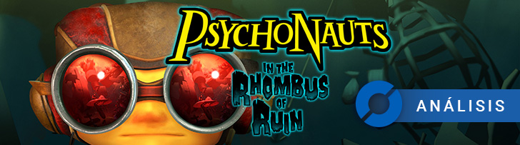 Psychonauts in the Rhombus of Ruin - PlayStation VR: ANÁLISIS