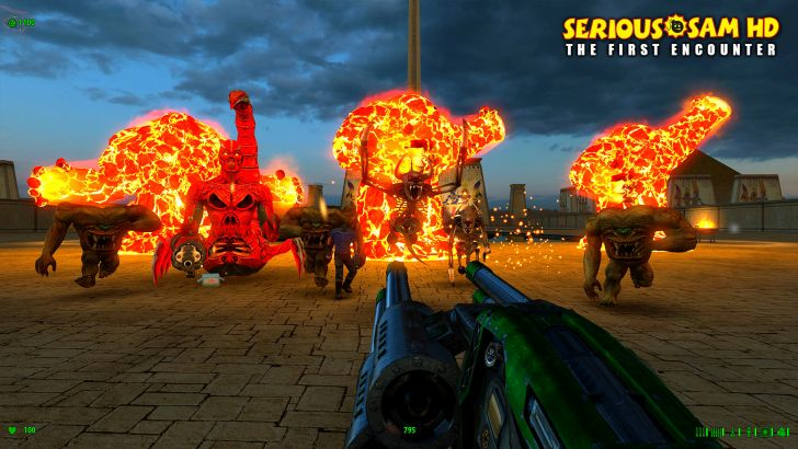 Serious Sam First Encounter