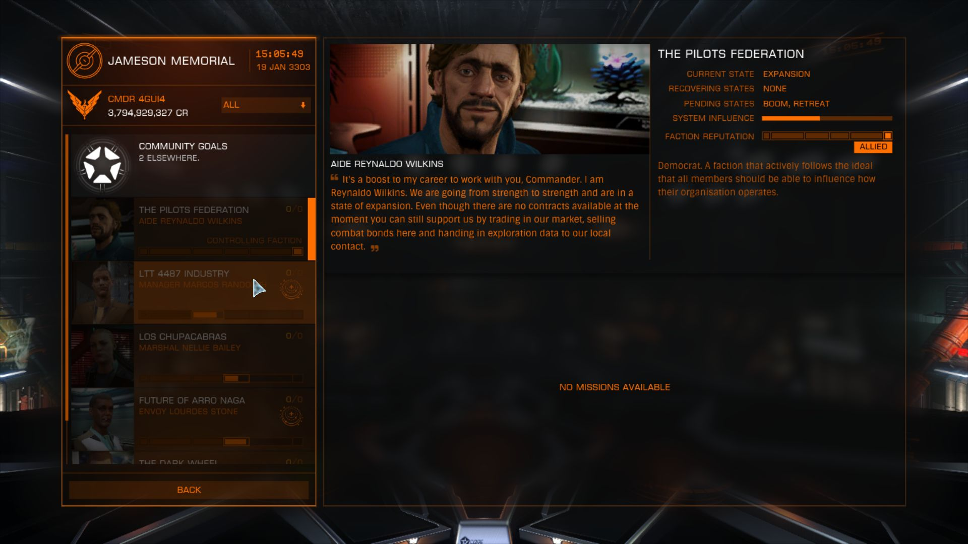 Elite: Dangerous The Return