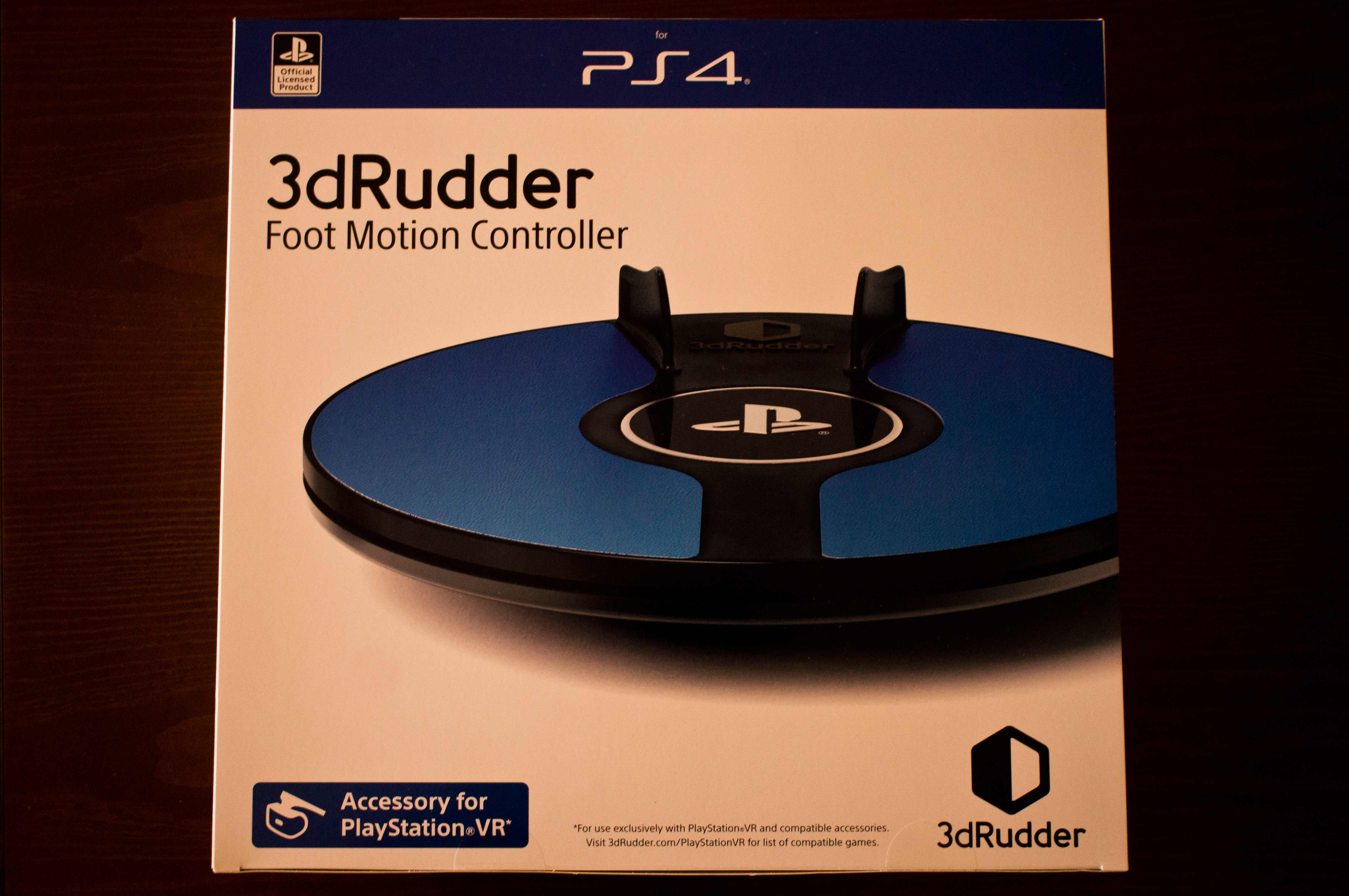3dRudder for PSVR