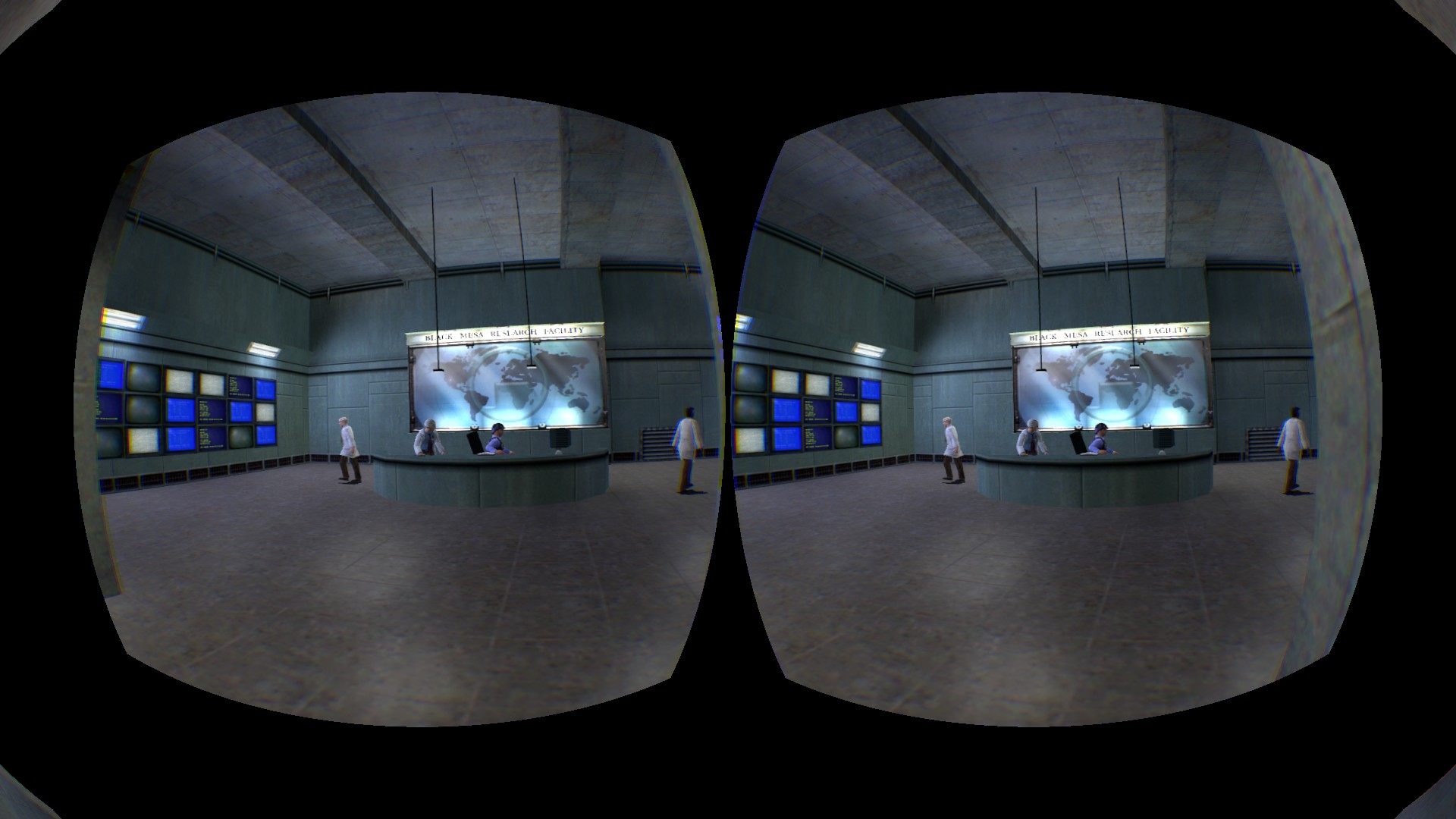 Half-Life Source en el Oculus Rift