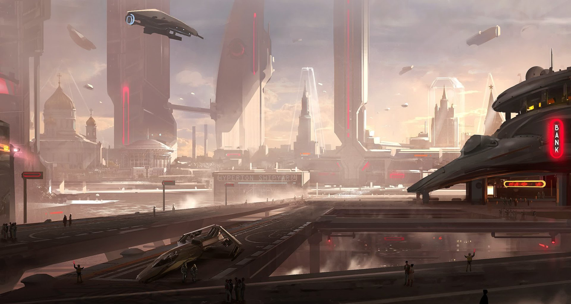 Arte conceptual de Star Citizen